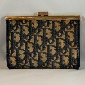 😍Vintage DIOR Trotter Cosmetic Bag